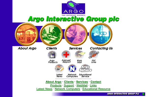 Argo Group - a bit of a mess full of circles to be honest.