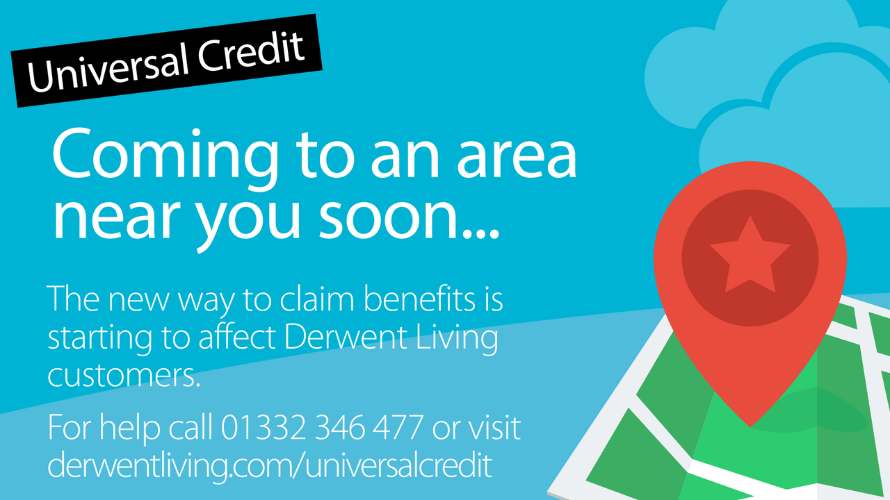 Screen4 - a warning that Universal Credit is coming soon