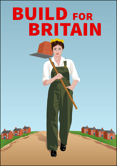 Build for Britain land girl
