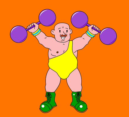 A Letts-style strongman